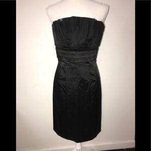 Black fitted Bebe Dress